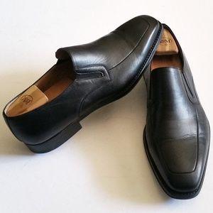 Magnanni Fabricio Apron Toe Loafers & Shoe Trees